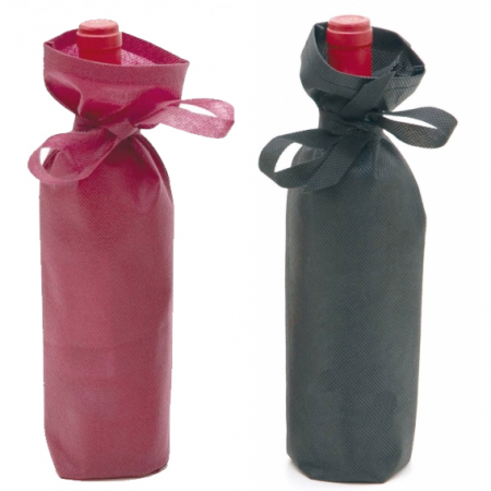Bolsa para la presentación de la botella de vino