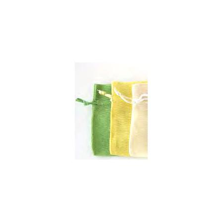 Bolsita de tela en algodón de 10 x 7,5 cm