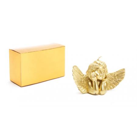 Vela navidad ángel en caja regalo