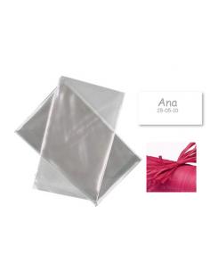 f041ea0de Presentación para regalos, bolsa celofán, rafia y tarjeta