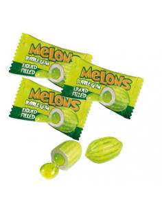 Chicles con forma y sabor de melón
