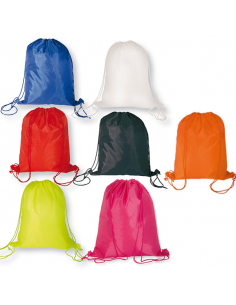 Regalos útiles mochila nylon  colores variados