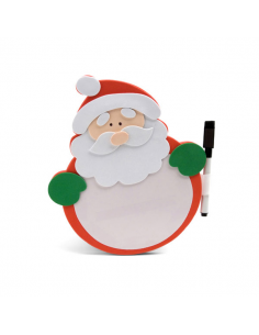 Pizarra Papá Noel en goma eva