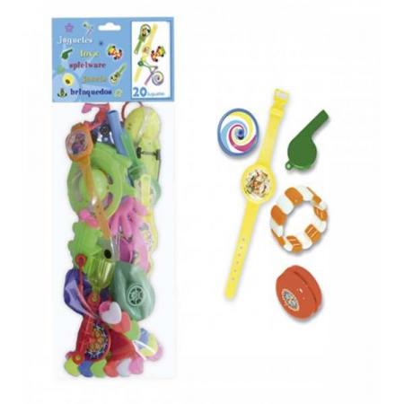 Bolsa juguetes para relleno de piñatas