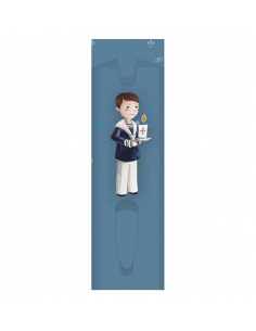 Funda para bolígrafo niño Primera Comunión con Cirio