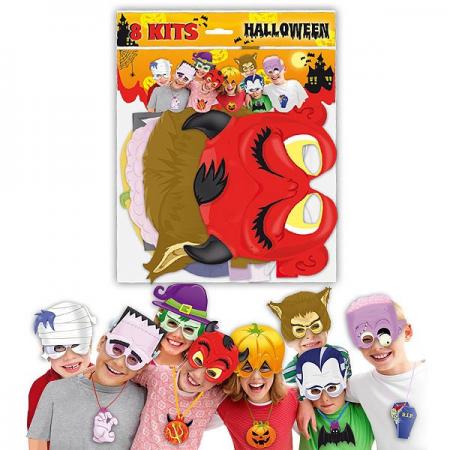 Caretas y collares disfraces de halloween