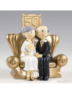 Figura para la celebración de las bodas de oro