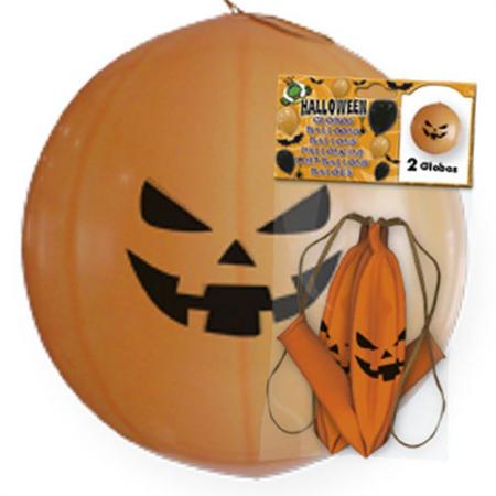 Globos gigantes con forma de calabaza, para halloween
