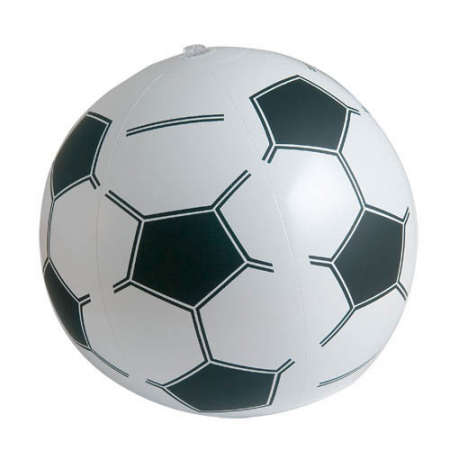 Balón hinchable fútbol para la playa