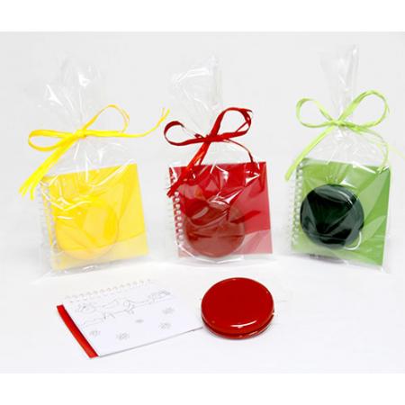 Yo-yo pvc con libreta plantillas en bolsa para eventos