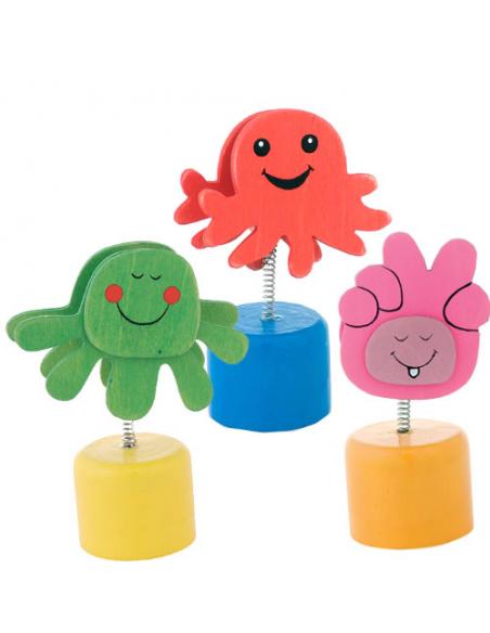 Sacapuntas porta  notas infantil colores surtidos