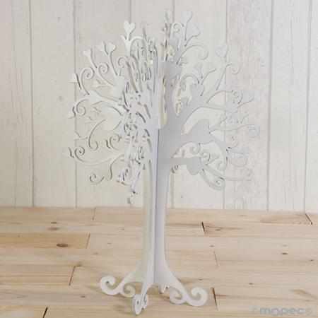 Árbol de los deseos blanco
