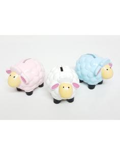 Huchas infantiles de cerámica ovejitas