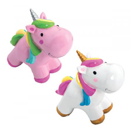 Hucha unicornio realizada en dolomita