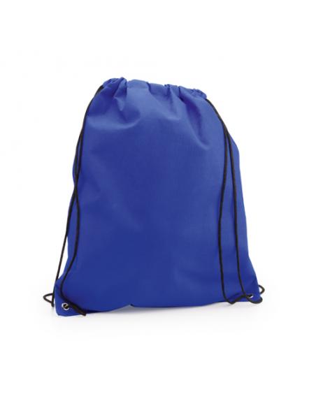 Regalos útiles mochila Non Woven colores lisos azul