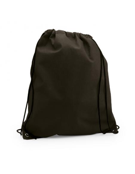 Regalos útiles mochila Non Woven colores lisos negra