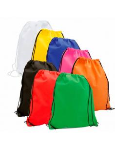 Regalos útiles mochila Non Woven colores surtidos lisos
