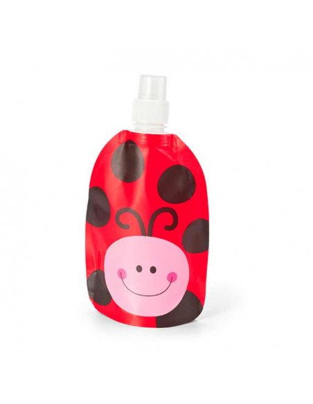 Botella infantil mariquita