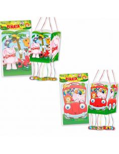 Piñatas party animalitos
