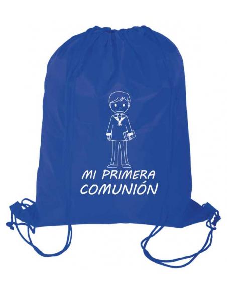 Mochila infantil Primera Comunión, diseño para niño