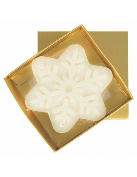 Jabón estrella navidad en caja regalo