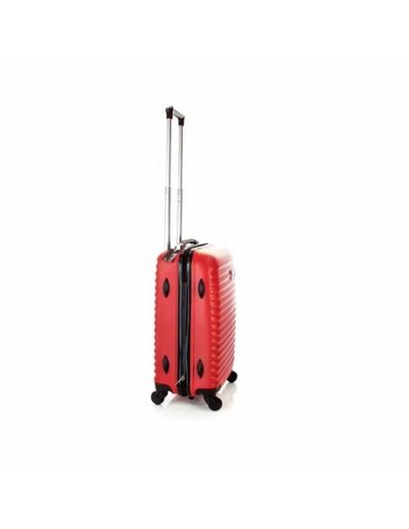 Una gran maleta de viaje un trolley