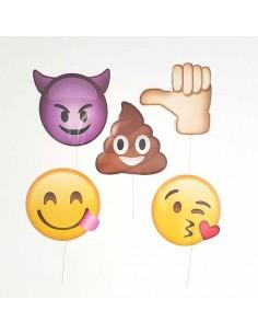 Set para photocall infantil Emoji
