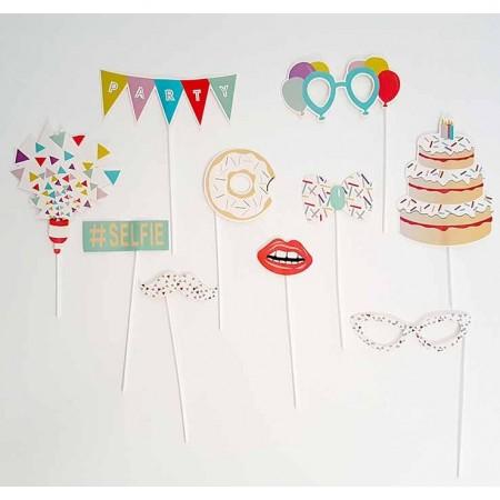 Set para photocall infantil cumpleaños