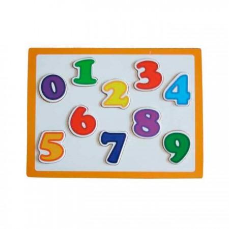 Puzle infantil con los números del 1 al 9