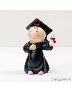 Figura chica graduación, nuestra Pita