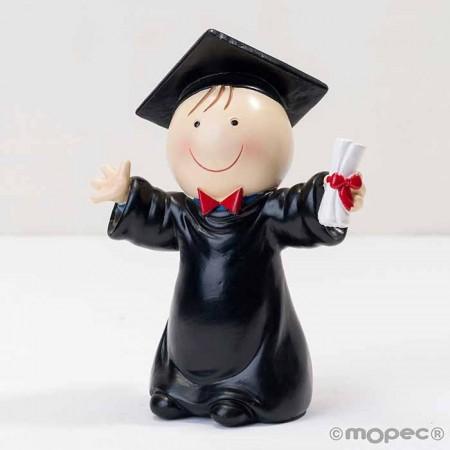Figura chico graduación, nuestro Pit