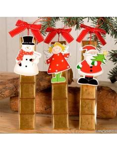 Colgantes para el árbol de navidad con napolitanas