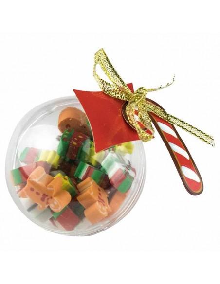 Divertidas gomas de borrar con motivos navideños