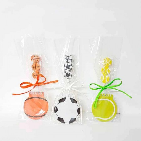 Set eventos balones sports con lapices y gomas balones.