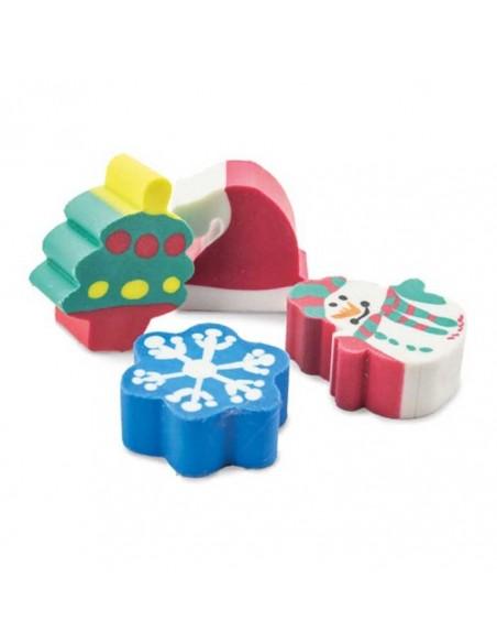 Gomas de navidad 4 unidades