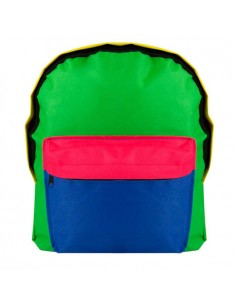 Mochila infantil multicolor frontal