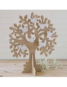 Árbol de los buenos deseos o joyero pajaritos