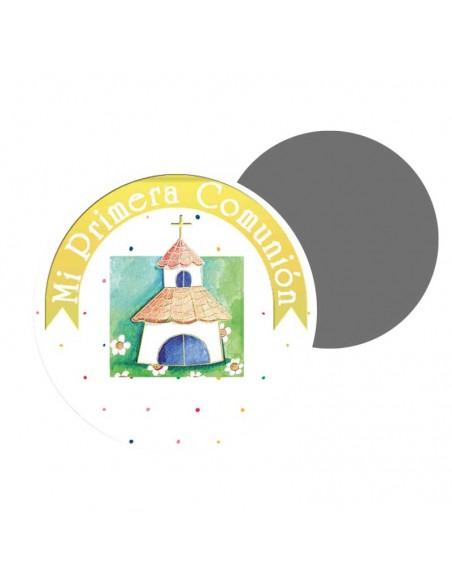 Imán para los invitados de comunión, pequeña iglesia