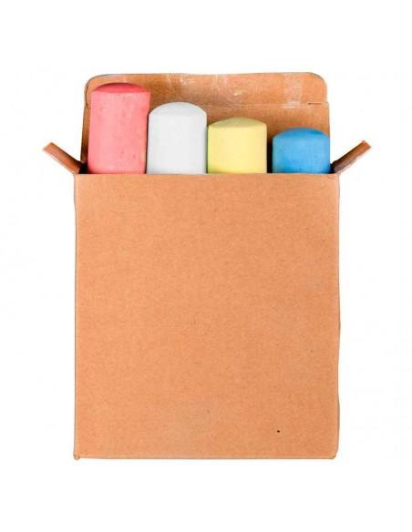 Tizas gigantes en caja, de colores