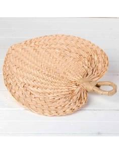 Pai-Pay pequeño de hoja de palma y trenzado