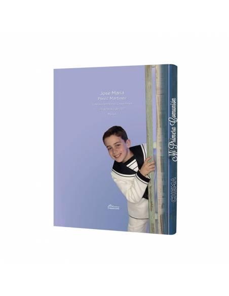 Libro de firmas niño para Comunión 100% personalizado