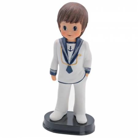 Figura niño Comunión, marinero elegante. Para la tarta de comunión