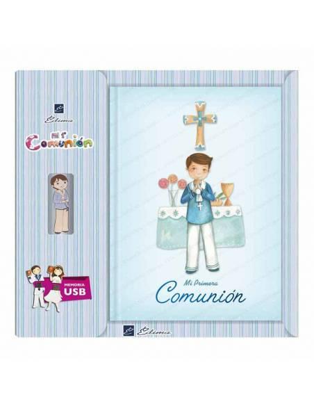 Libro para Primera Comunión con USB, Sonriente marinero en el altar