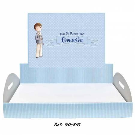 Bandeja niño Comunión personalizada para los detalles de los invitados