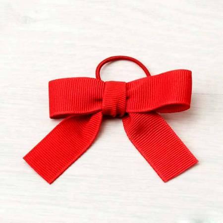 Lazo rojo otomán+cordón elástico 15mm