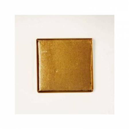 Napolitana de chocolate con envoltorio dorado