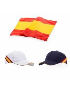 Set de gorra y bandear de España