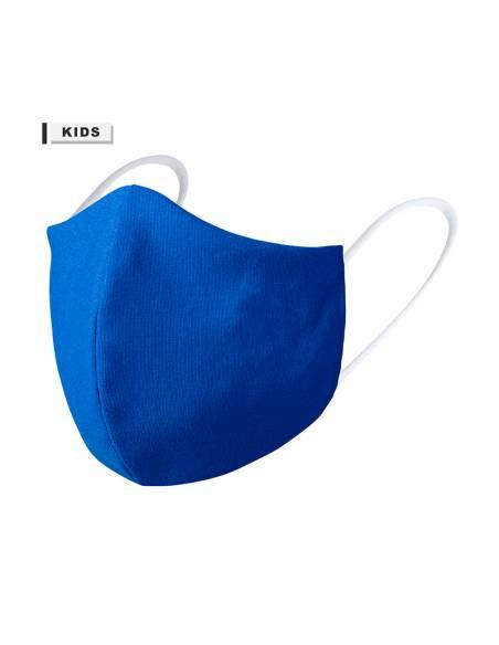 Mascarilla higiénica reutilizable azul