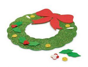Guirnalda en goma EVA decoración navidad