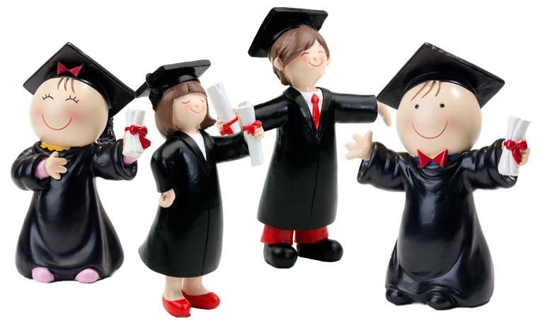 Figuras para graduación